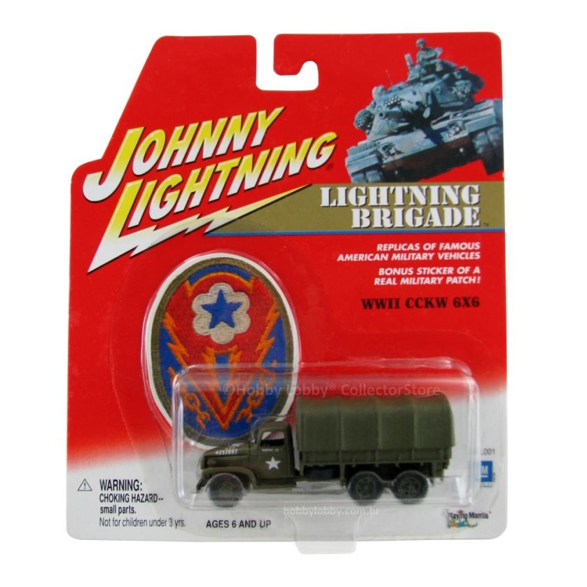 Johnny Lightning - Lightning Brigade - WWII CCKW 6x6  - Hobby Lobby CollectorStore