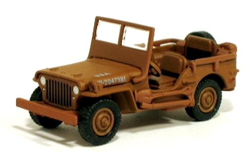 Johnny Lightning - Lightning Brigade - WWII MB Willys Jeep