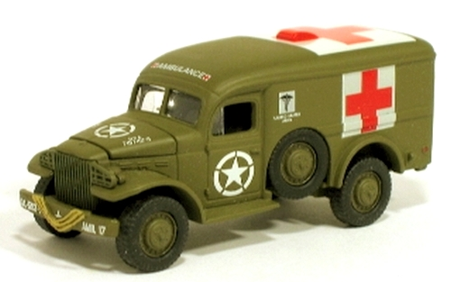 Johnny Lightning - Lightning Brigade - WWII WC54 Ambulance