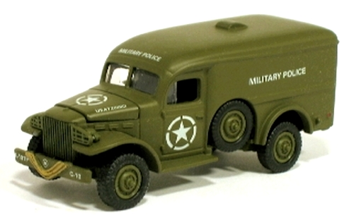 Johnny Lightning - Lightning Brigade - WWII WC-54 Military Police