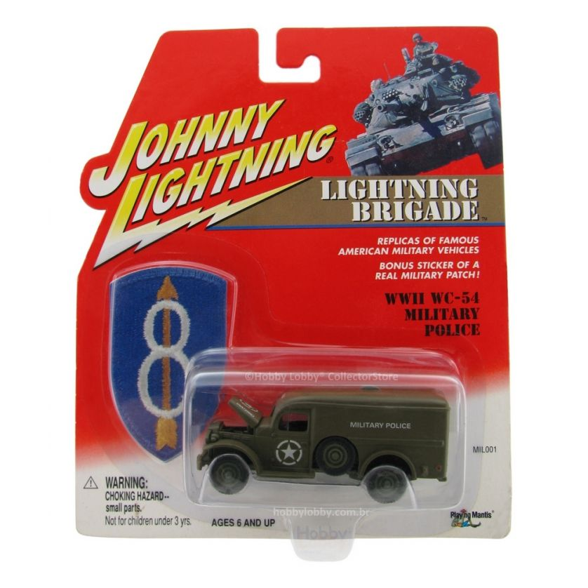 Johnny Lightning - Lightning Brigade - WWII WC-54 Military Police  - Hobby Lobby CollectorStore
