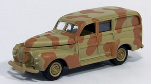 Johnny Lightning - Military Muscle - WWII Chevrolet Staff Car