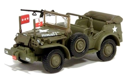 Johnny Lightning - Military Muscle - WWII Dodge WC-57 Command Car