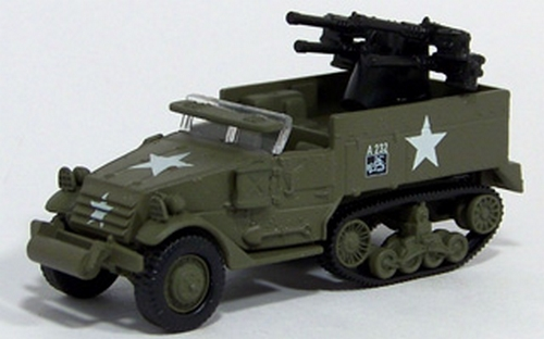 Johnny Lightning - Military Muscle - WWII Half Track