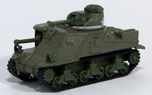 Johnny Lightning - Military Muscle - WWII M3 Lee Tank