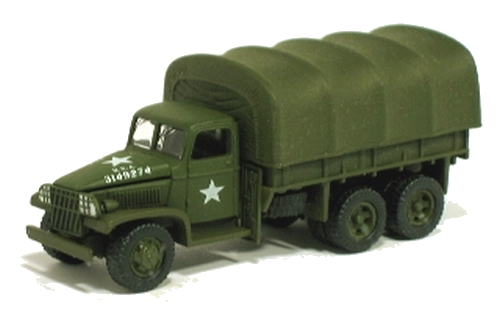 Johnny Lightning - Pearl Harbor - GMC CCKW 6X6 Cargo Truck