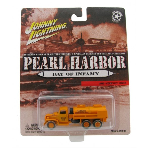 Johnny Lightning - Pearl Harbor - GMC CCKW Fuel Tanker  - Hobby Lobby CollectorStore