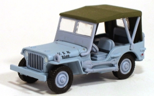 Johnny Lightning - Pearl Harbor - Willys US Navy Jeep