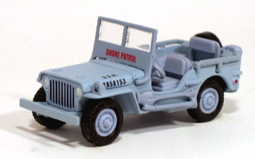 Johnny Lightning - Pearl Harbor - Willys US Navy Shore - Patrol Jeep