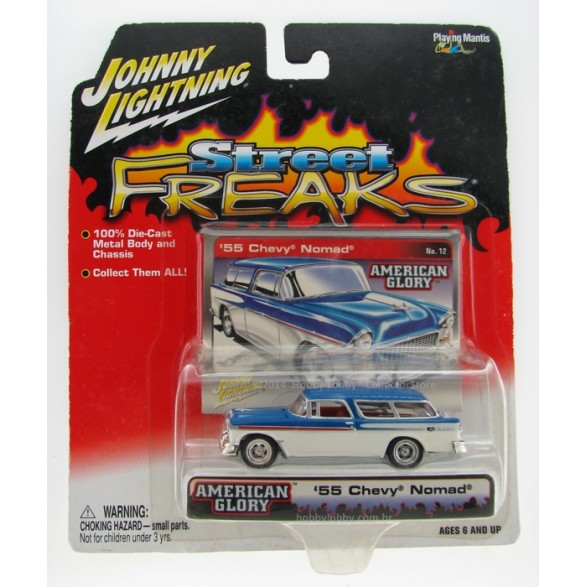 Johnny Lightning - Street Freaks - ´55 Chevy Nomad  - Hobby Lobby CollectorStore