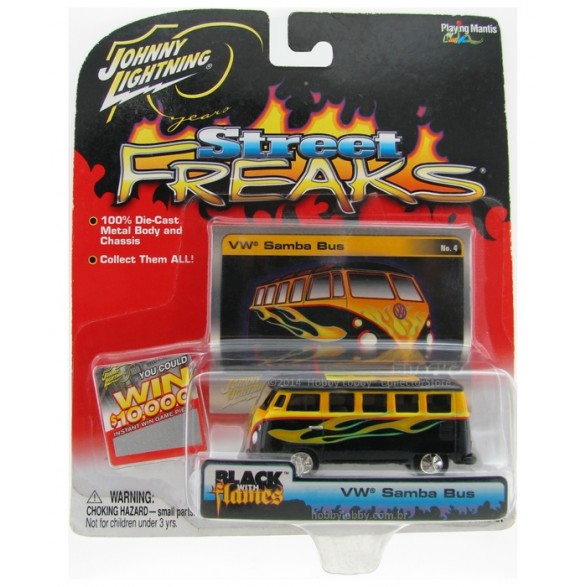 Johnny Lightning - Street Freaks - VW Samba Bus