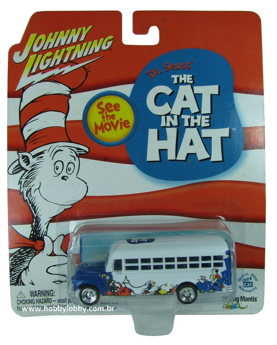 Johnny Lightning - The Cat in the Hat - ´56 Chevy School Bus