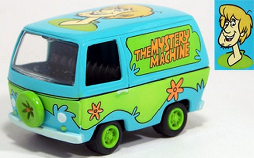 Johnny Lightning - Hollywood on Wheels  - The Mystery Machine - Scooby-Doo