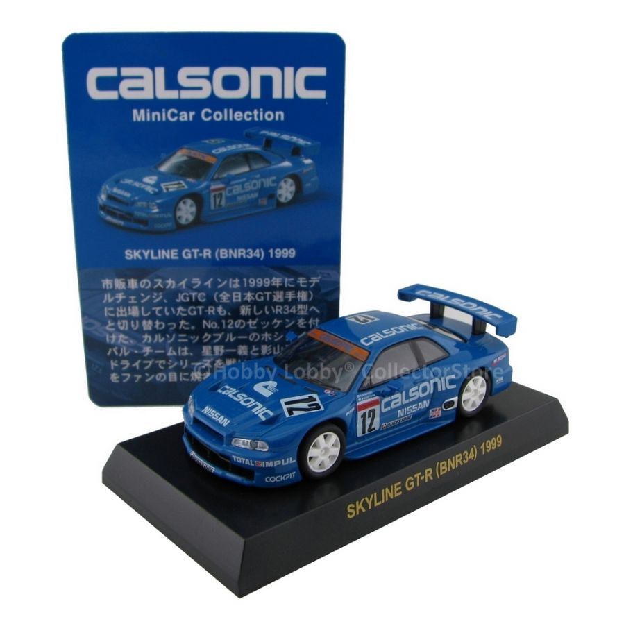 Kyosho - Calsonic Collection - Skyline GT-R (BNR34) 1999