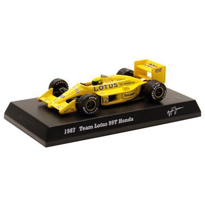 Kyosho - Coleção Ayrton Senna  - 1987 - Team Lotus 99T Honda