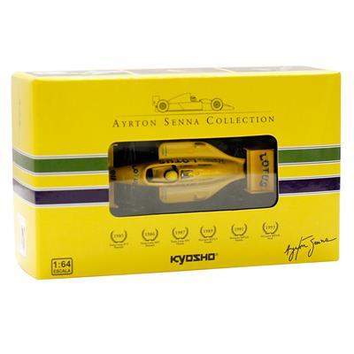 Kyosho - Coleção Ayrton Senna  - 1987 - Team Lotus 99T Honda  - Hobby Lobby CollectorStore