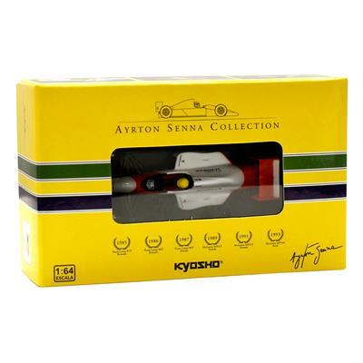 Kyosho - Coleção Ayrton Senna - 1989  - McLaren MP45 Honda  - Hobby Lobby CollectorStore