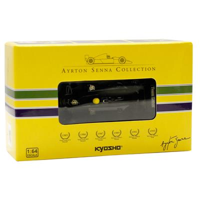 Kyosho - Coleção Ayrton Senna  - 1986 - Team Lotus 98T Renault  - Hobby Lobby CollectorStore