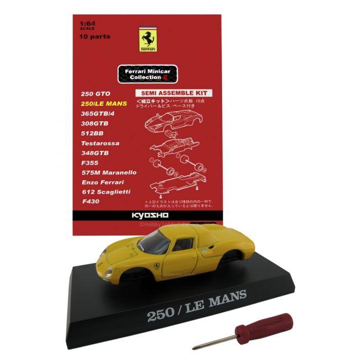 Kyosho - Ferrari Minicar Collection II - Ferrari  250 LM (amarela)