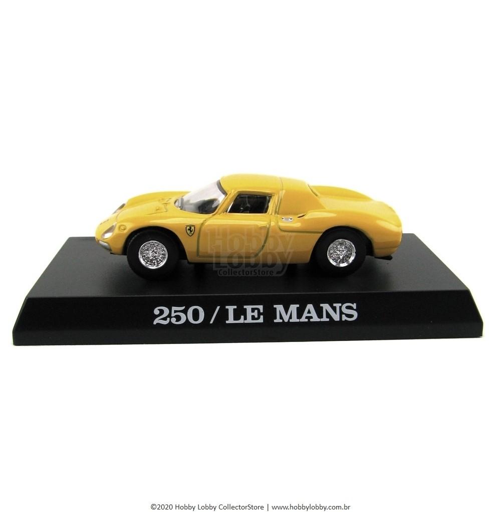 Kyosho - Ferrari Minicar Collection II - Ferrari  250 LM (amarela)  - Hobby Lobby CollectorStore