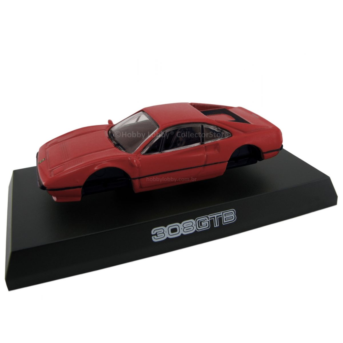 Kyosho - Ferrari Minicar Collection II - Ferrari 308 GTB (vermelha)  - Hobby Lobby CollectorStore