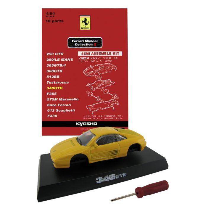 Kyosho - Ferrari Minicar Collection II - Ferrari 348 GTB (Amarela)