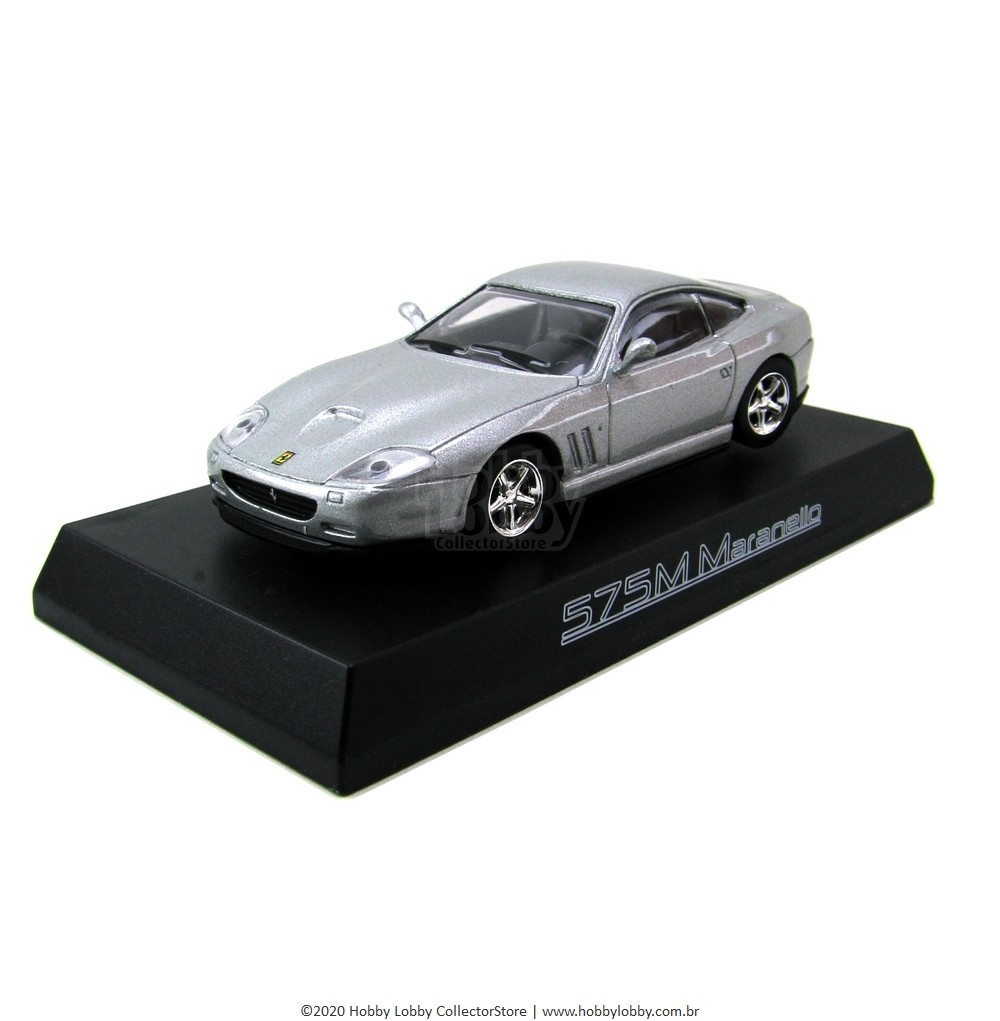 Kyosho - Ferrari Minicar Collection II - Ferrari 575M Maranello [Prata]