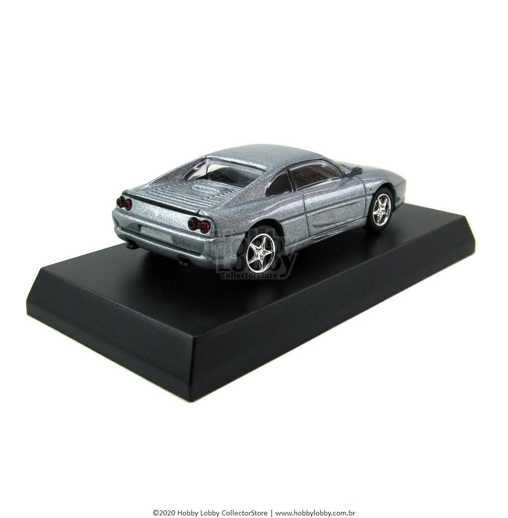 Kyosho - Ferrari Minicar Collection II - Ferrari F355 (Prata)  - Hobby Lobby CollectorStore