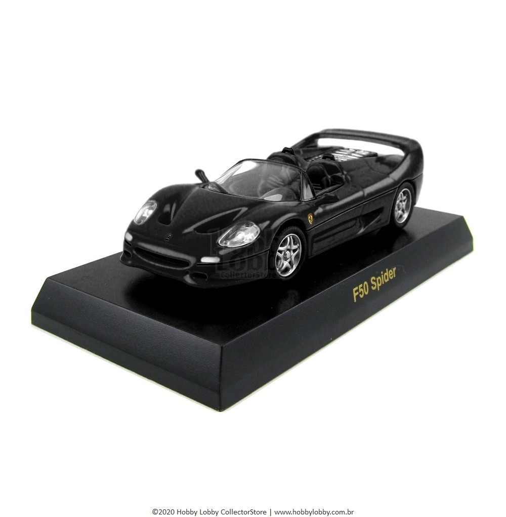 Kyosho - Ferrari Minicar Collection V - Ferrari F50 Spider [preta]