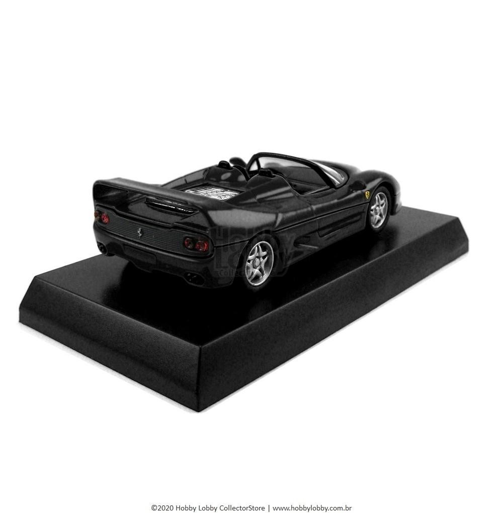 Kyosho - Ferrari Minicar Collection V - Ferrari F50 Spider [preta]  - Hobby Lobby CollectorStore
