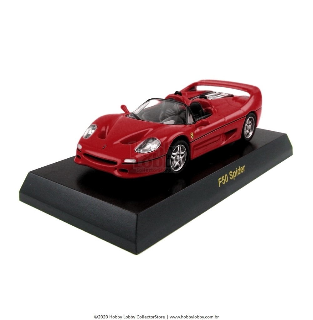 Kyosho - Ferrari Minicar Collection V - Ferrari F50 Spider [vermelha]