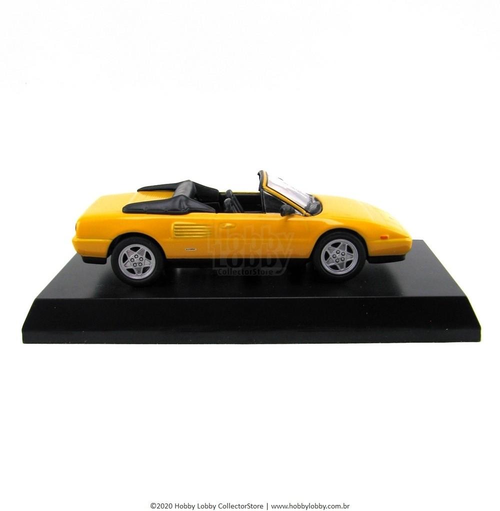 Kyosho - Ferrari Minicar Collection V - Ferrari Mondial T Cabriolet [amarela]  - Hobby Lobby CollectorStore