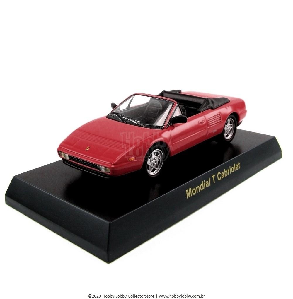 Kyosho - Ferrari Minicar Collection V - Ferrari Mondial T Cabriolet [vermelha]