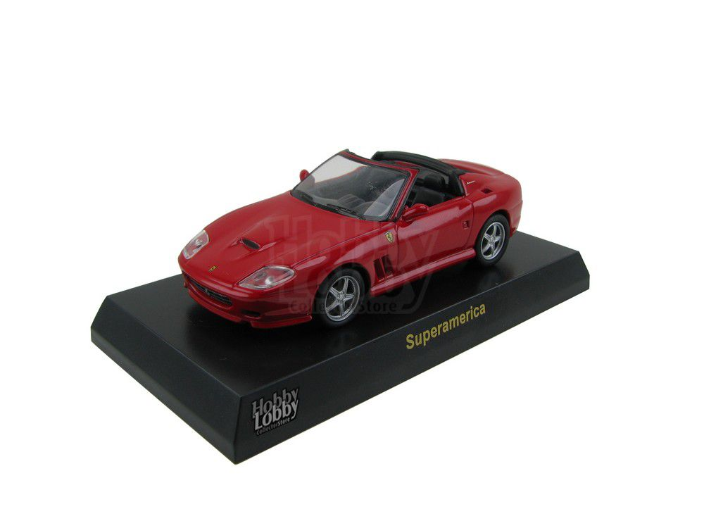 Kyosho - Ferrari Minicar Collection V - Ferrari Superamerica [vermelha]