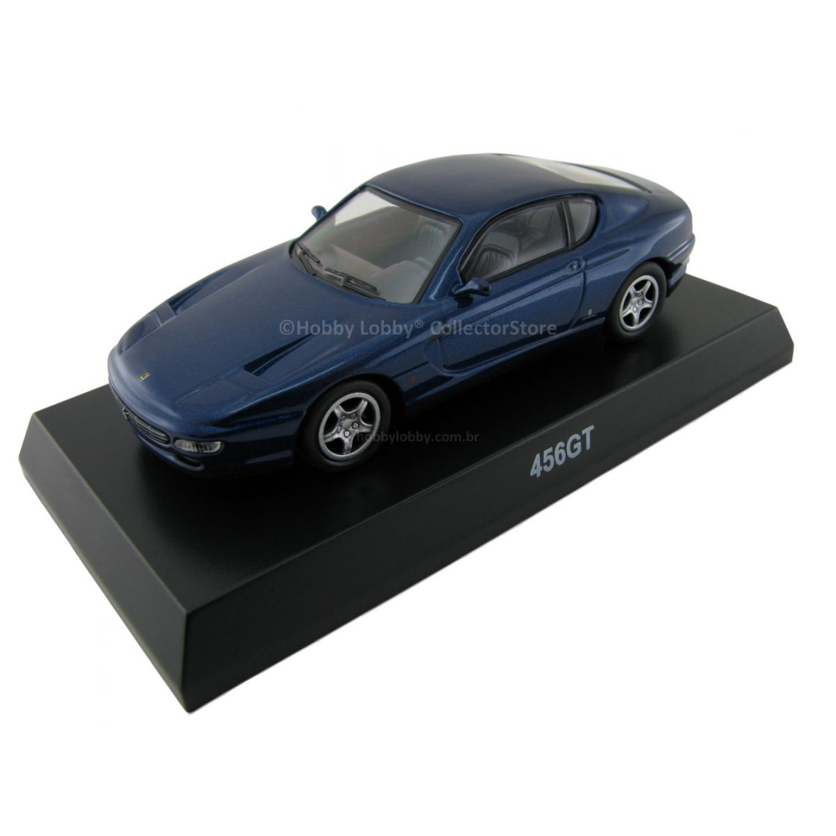 Kyosho - Ferrari Minicar Collection VI - Ferrari 456 GT [azul]