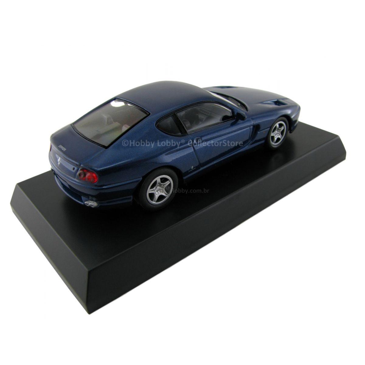 Kyosho - Ferrari Minicar Collection VI - Ferrari 456 GT [azul]  - Hobby Lobby CollectorStore