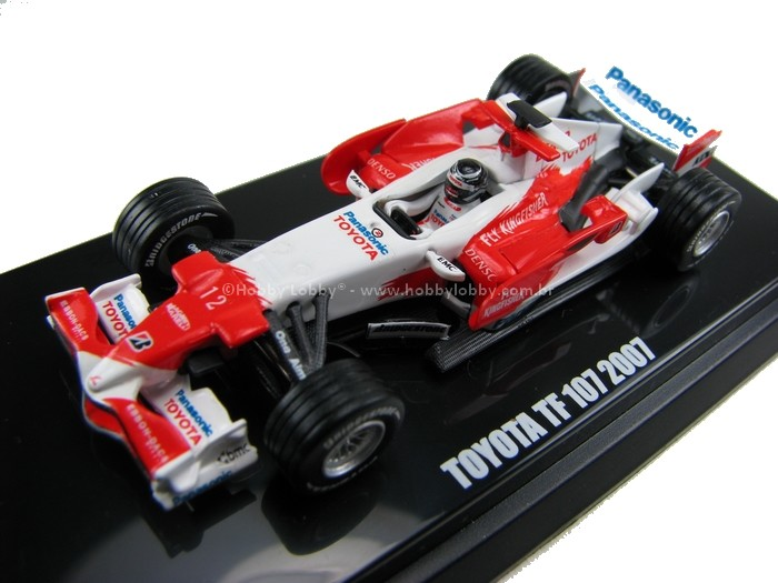 Kyosho - Beads Collection - Toyota TF 107 2007