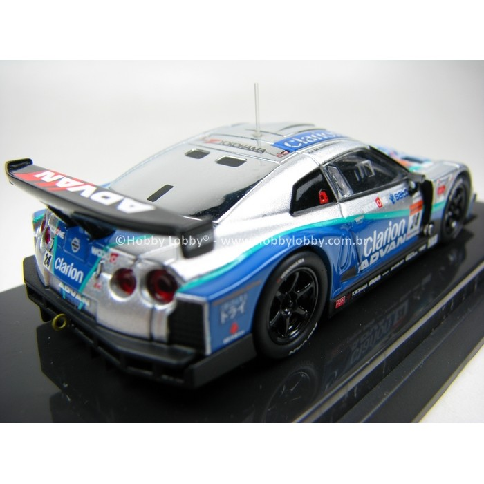 Kyosho - Beads Collection - Woodone Advan Clarion GT-R 2008  - Hobby Lobby CollectorStore