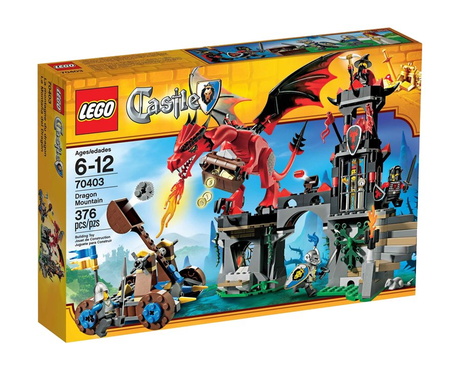 Lego Castle - Montanha do Dragão - Ref.:70403  - Hobby Lobby CollectorStore