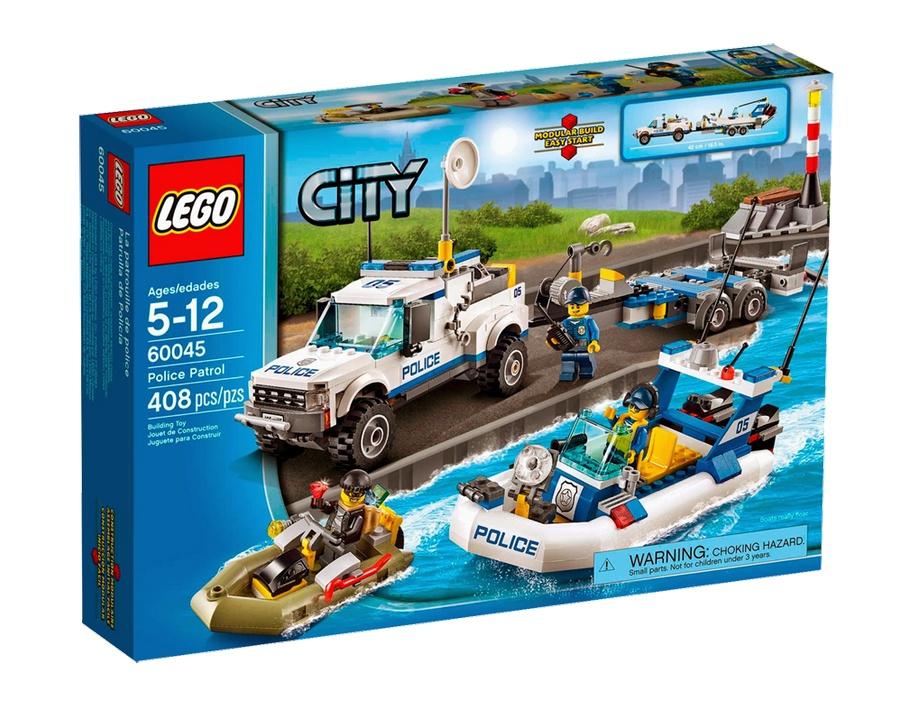 Lego City - Patrulha de Polícia - Ref: 60045