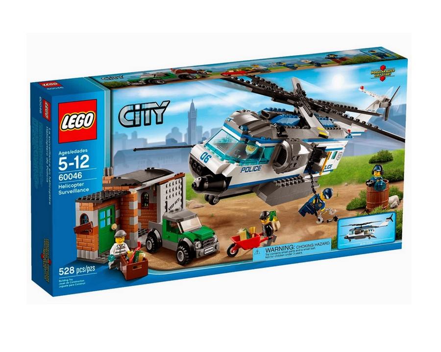 Lego City - Vigilância de Helicóptero - Ref: 60046