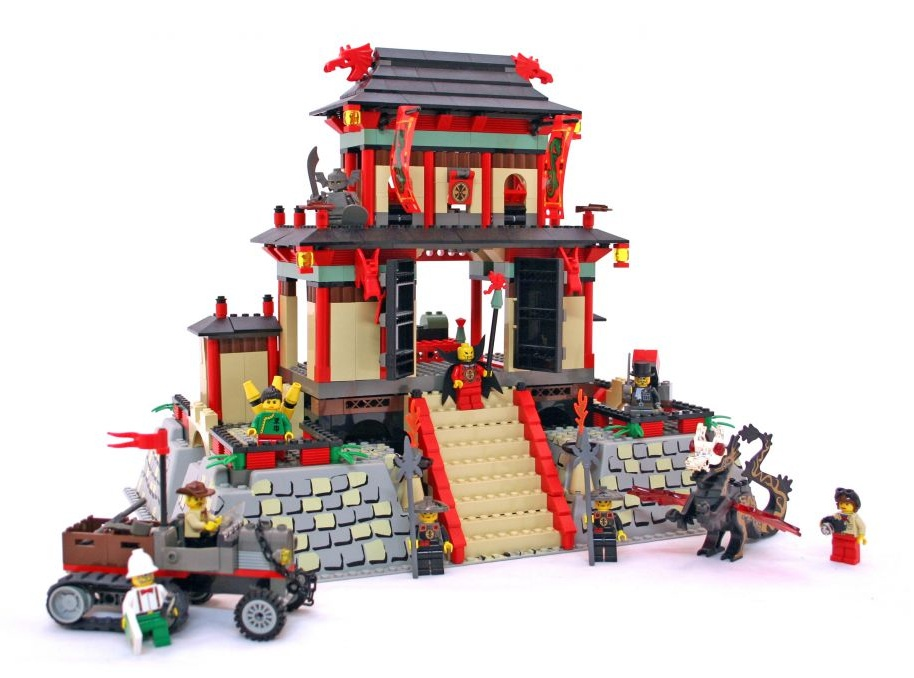 Lego - Orient Expedition - Fortaleza do Dragão - Ref:7419  - Hobby Lobby CollectorStore