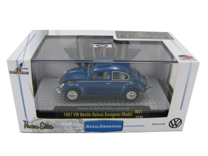 M2 Machines - 1967 VW Beetle DeLuxe European Model