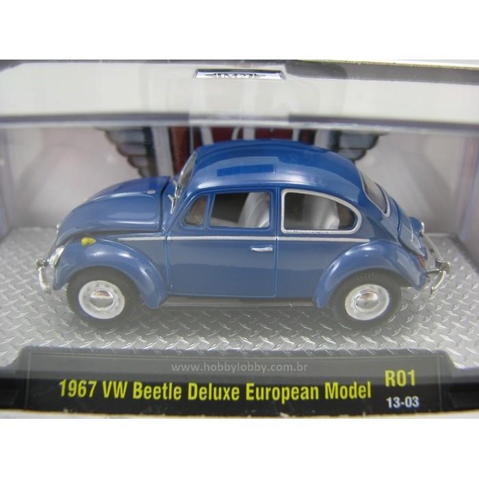 M2 Machines - 1967 VW Beetle DeLuxe European Model  - Hobby Lobby CollectorStore
