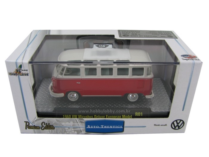 M2 Machines - VW Microbus DeLuxe European Model