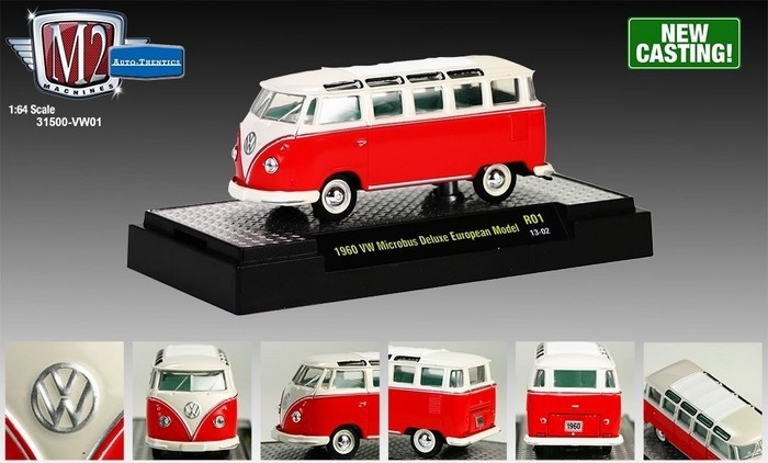 M2 Machines - VW Microbus DeLuxe European Model  - Hobby Lobby CollectorStore