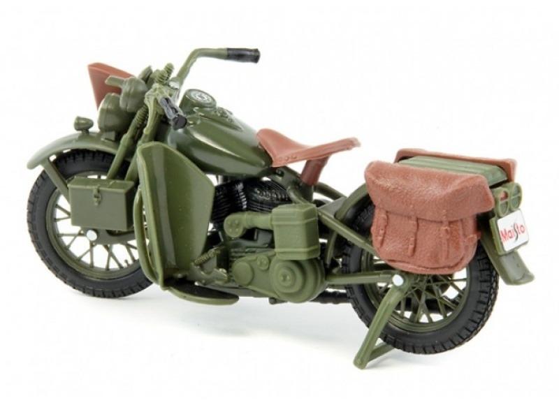 Maisto - Harley-Davidson - 1942 WLA Flathead