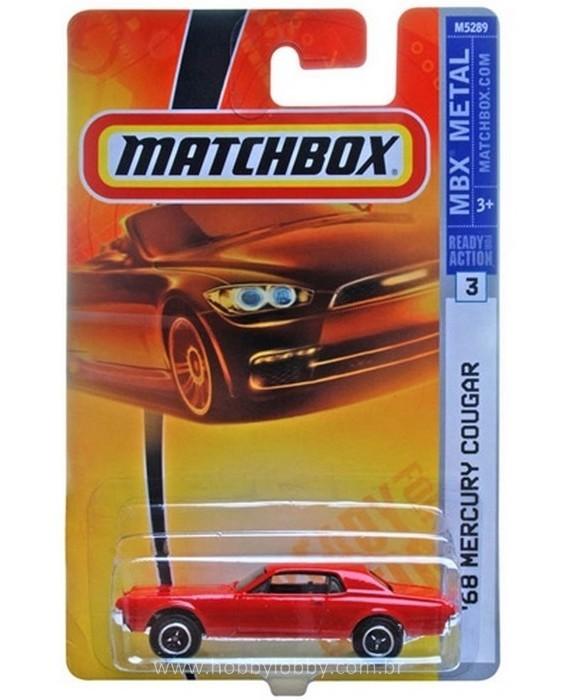 Matchbox - Coleção 2008 - ´68 Mercury Cougar
