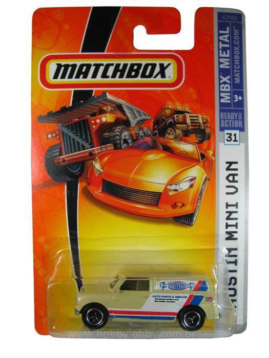Matchbox - Coleção 2007 -  Austin Mini Van  - Hobby Lobby CollectorStore