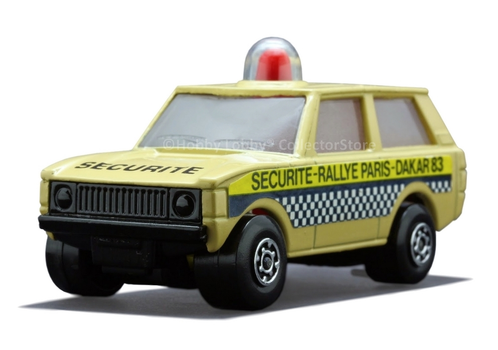 Matchbox - Coleção 1983 - Range Rover - Police Patrol  - Hobby Lobby CollectorStore